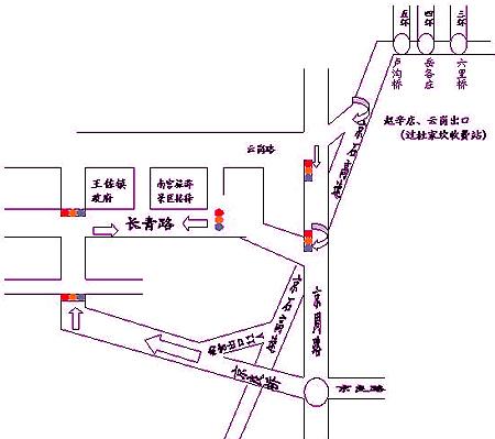 青岛青龙高速路线图